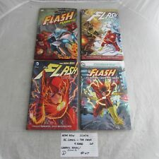 DC Comics The Flash 4 hardcover lot-The New 52, Brightest Day, Flashpoint 0328
