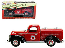 """1940 FORD TANKER """"TEXACO"""" RED 1:32 DIECAST MODEL CAR BY BEYOND INFINITY 0610"""