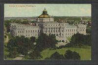1910s LIBRARY OF CONGRESS WASHINGTON (DC) POSTCARD Card # 4004