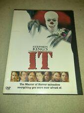 Stephen King's It DVD Region 1 *HORROR *HALLOWEEN