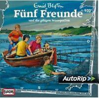 FÜNF FREUNDE - 103/UND DIE GIFTIGEN FEUERQUALLEN  CD NEU
