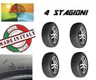 4 x Gomme 4 STAGIONI omologate ECOQUATTRO S M+S made in Italy 185/65/15 92H