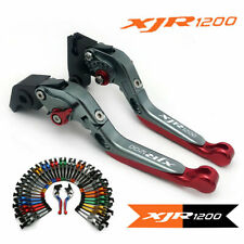 Motorcycle EXtendable Foldable Brake Clutch Levers For YAMAHA XJR1200 1995-1998