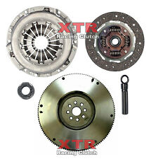 XTR RACING ORGANIC CLUTCH KIT+HD FLYWHEEL 1991-1999 SATURN SC SL SW SERIES 1.9L