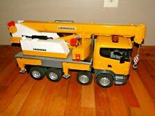 Bruder SCANIA Liebherr Crane Truck Huge Truck with Working Crane
