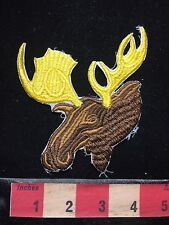 Embroiderer MOOSE Patch C74G