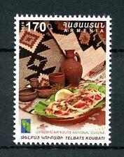 Armenia 2016 MNH RCC National Cuisine Telbats Koubati 1v Set Gastronomy Stamps