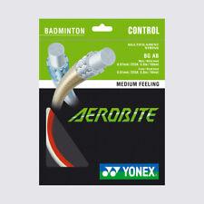 Yonex Aerobite 10 m Set Badminton Schläger Saite weiß rot NEU WOW