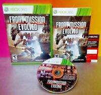 Front Mission Evolved  Microsoft Xbox 360 Rare Game Complete  Very Good ! Tested