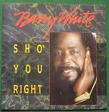 "Barry White Sho' You Right USA614 7"" Single"