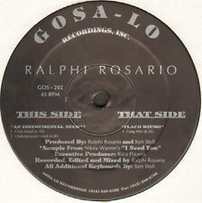 RALPHI ROSARIO - An Instrumental Need / Flaco Ritmo - Gosa-lo - GOS 202 - Usa