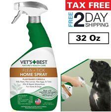 Flea, Tick & Mosquito Home Spray For Indoor Dog Vet's Best Treatment Flea Killer