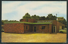GA Albany CHROME 1950's DICK'S RESTAURANT 632 Oglethorpe Ave. HWY'S 19 & 32 Cafe