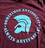 Trojan - sometimes antisocial - always antifascist T-Shirt S-XXL