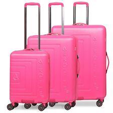Aerolite Lightweight ABS Hard Shell 8 Wheel Cabin & Hold Luggage Suitcase & Sets