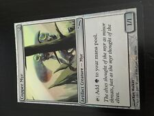MTG MAGIC MIRRODIN COPPER MYR (ENGLISH MYR DE CUIVRE) NM FOIL