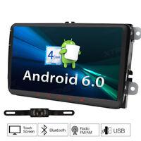 "9"" Android 6.0 GPS Autoradio Navi Für VW Passat Golf Tiguan Jetta Polo Seat+Cam"