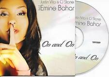 JUSTIN VITO & CJ STONE ft EMINE BAHAR - On and on CDS 6TR Trance 2011 Holland