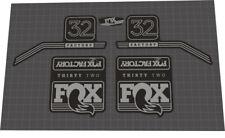 Fox 36 Factory /& Fox Float X2 Decal Kit Neon Yellow//Matt Silver//Matt Black