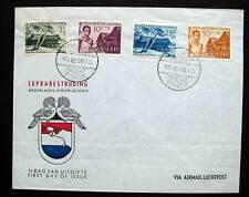 Netherlands Nieuw Guinea Cachet Fdc 1956
