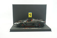 1/18 BBR FERRARI LAFERRARI APERTA MATT BLACK,BLACK DELUXE BASE LE 15 PC MR