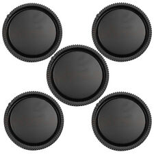 5Pcs Rear Lens Cap for Sony E-Mount NEX-3 NEX-5 Black New