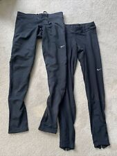 Nike Dryfit Running Leggings X 2 Medium