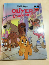 Walt Disney's Oliver and Company Children's Book, Used Good condition