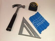 East wing hammer stanley fatmax Tape 10 Meyer empire pencils Plus alloy square ,