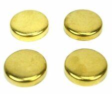 4 Brass Freeze Plugs (Dish Style) for a Perkins 3.152 motor BW2112-KE