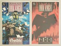 BATMAN LEGENDS OF THE DARK KNIGHT ISSUE #10 AND ISSUE #11 DC COMICS 1990