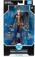"McFarlane Toys 2020 DC Multiverse Arkham Asylum 7"" The Joker Action Figure"