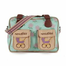 Pink Lining MAMA ET BEBE HYDRANGEA Baby Changing Nappy Diaper Bag