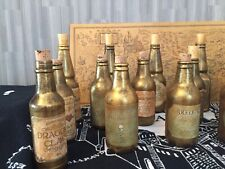 Handcrafted Harry Potter Potion Bottles Fabulous Items! 3 For £10 Special Offer!