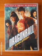 DVD DRAGONBALL EVOLUTION - EDICION DE ALQUILER (R6)