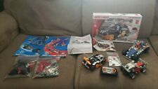 Meccano Maker System Lot - Roadster RC, Two Motion System Cars, and Four Wheeler