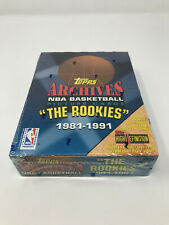 1993 TOPPS ARCHIVES FACTORY SEALED 1981-91 WAX BOX THE ROOKIES MICHAEL JORDAN