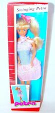 """Plasty Lundby PETRA """"SWINGING"""" 12"""" Doll Action Figure & Outfit MIB`85 RARE!"""