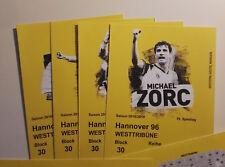2 von 4 Tickets Westtribüne BVB Borussia Dortmund - Hannover 96 / Sitzplatz