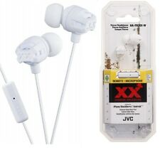 JVC HA-FR201W In Ear Stereo Headphones Remote & Mic HAFR201 White /GENUINE