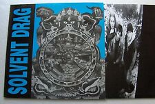 SOLVENT DRAG Insentient GERMANY LP GASOLINE BOOST (1992) hardcore punk - NMINT