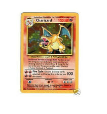 Charizard 4/102 Base Set Ultra Rare Holo Foil Basic Pokemon Card