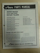ARIENS ROTARY TILLERS SERIES 902000 ATTACHMENTS PARTS MANUAL PM 2 79