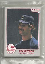 Don Mattingly 1988 Star Company New York Yankees 11-card Baseball Factory Set