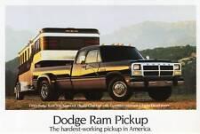 Old Print. 1993 Dodge Ram 350 Super LE Dually Club Cab Pickup