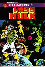 MISS HULK   ALBUM  RELIE  N°2 : deux aventures de miss hulk  ARTIMA COLOR