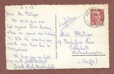 Mrs Philips 19 Pendeford Lane Tettenhall Wolv'hampton 1952, Boislandelles  AH186