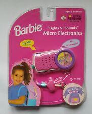Barbie Lights N Sounds Micro Electronics Pack Pals Clock Radio 1999 Nrfp New!