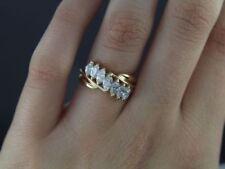 Anillos de joyería con diamantes naturales, marquesa SI2