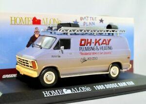 "1986 Dodge Ram Van  ""Home Alone"" / Greenlight Hollywood 1:43"